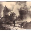 Real Photo of the fire on market street in San Francisco, California, 1906