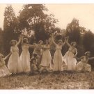 Real Photo of women performing Greek dance, Washington, D.C., 1920's
