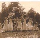 Real Photo of women performing Greek dance, Washington, D.C., 1920's