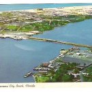 Vintage Postcard of Grand Lagoon in Panama City Beach, Florida - mid 1950's