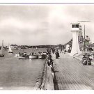 Real Photo Postcard (RPPC) of lighthouse on Littlehampton East Pier - Postmarked, 1952