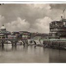 """Real Photo Postcard (RPPC) of """"Tevere"""" in Rome, Italy, 1940's"""