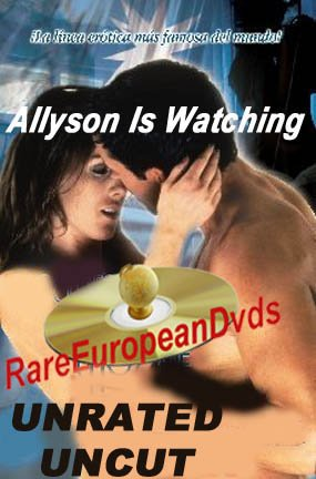 Allyson is Watching DVD Unrated Uncut Lesbian