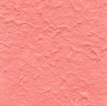 10 Salmon Pink Heavy Mulberry Paper
