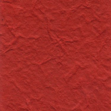Bright Red Heavy Mulberry Paper 10 Sheet Pack