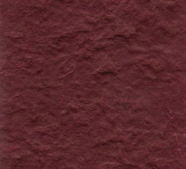 Maroon  Heavy Mulberry Paper 10 Sheet Pack