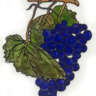 Bunch of Grapes  Faux Stained Glass Decal suncatcher