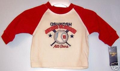 *NWT* Boys OSHKOSH Long Sleeved Tshirt SZ 12M