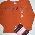 NWT GYMBOREE Harvest Leaves 2pc Floral Outfit 3T