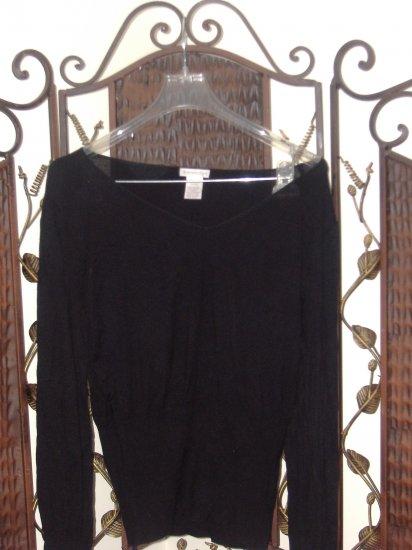 $4***worthington black sweater