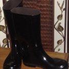 $11.50***black rain boots