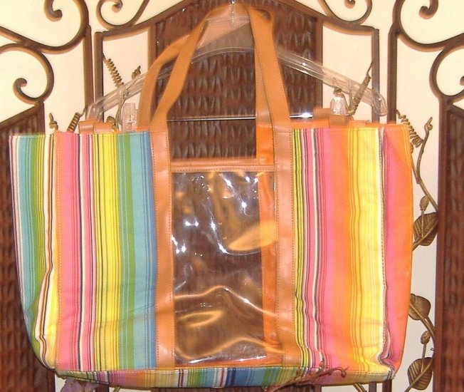 $7 **multi-use, multi-colored  oversized bag
