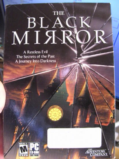 BLACK MIRROR ADVENTURE GAME PC MATURE AWESOME