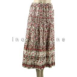 inadditions : New CHARTER CLUB Cotton Broomstick Pleat Floral Print Pull-On Skirt Women's 18W 2X
