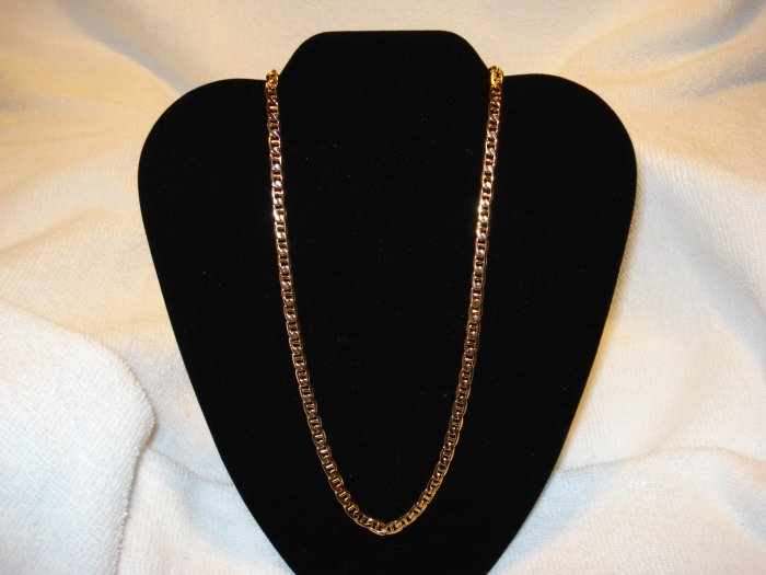 24 inch Necklace and Bracelet Maritime Gold  Lifetime Guarantee