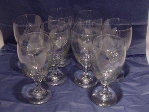 Set Of 8 Wine Glasses