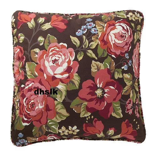 Ikea floral arden ros vintage roses pillow cover sham euro for Euro shams ikea