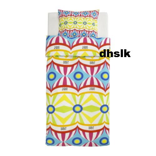 IKEA ATOLL SEGEL Twin Duvet COVER Set SPINNAKER Sails