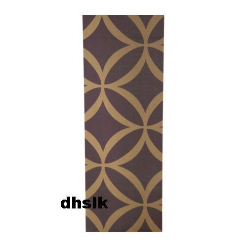 IKEA ANDREA Curtain Panel PURPLE Brown BOLD Mod Retro