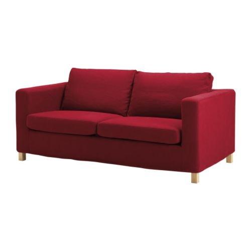 New IKEA KARLANDA Sofa Bed SLIPCOVER Cover SKANUM RED