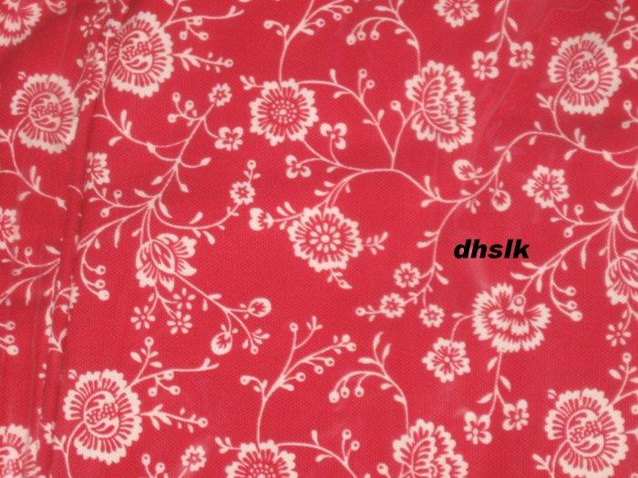 IKEA Ektorp JENNYLUND Armchair SLIPCOVER Cover APPLERYD RED White FLORAL