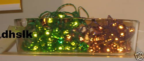 IKEA GL�NSA DIAMANT Glansa 48 Diamonds LIGHTS Green LED Xmas
