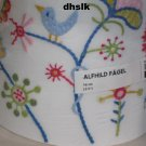 IKEA ALFHILD FÅGEL Fagel LAMP SHADE European Folk Art EMBROIDERED Bird Flower