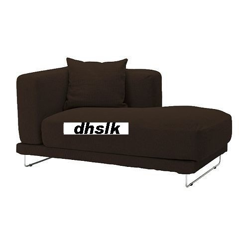IKEA TYLOSAND Right Hand Chaise COVER REPHULT DARK BROWN TYL�SAND Slipcover