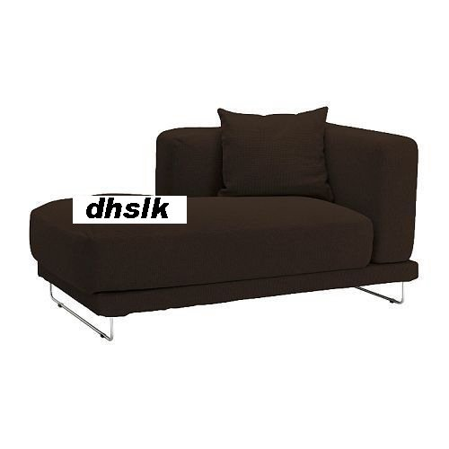 IKEA TYLOSAND Left Hand Chaise COVER REPHULT DARK BROWN TYL�SAND Slipcover