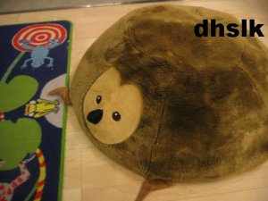 IKEA Sagosten HEDGEHOG Mole ANIMAL Cushion COVER Kids