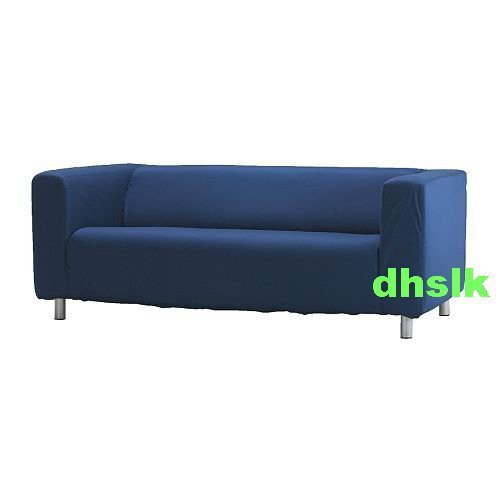 New ikea klippan sofa slipcover cover granan navy blue Klippan loveseat covers