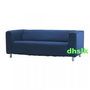 New Ikea Klippan Sofa Slipcover Cover Granan Navy Blue