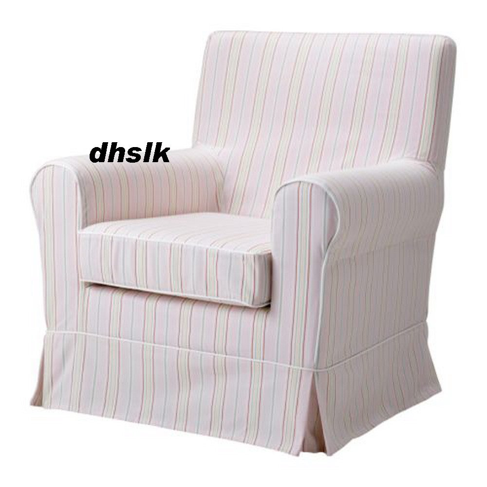 IKEA Ektorp JENNYLUND Armchair SLIPCOVER Cover KAREBY PINK ...