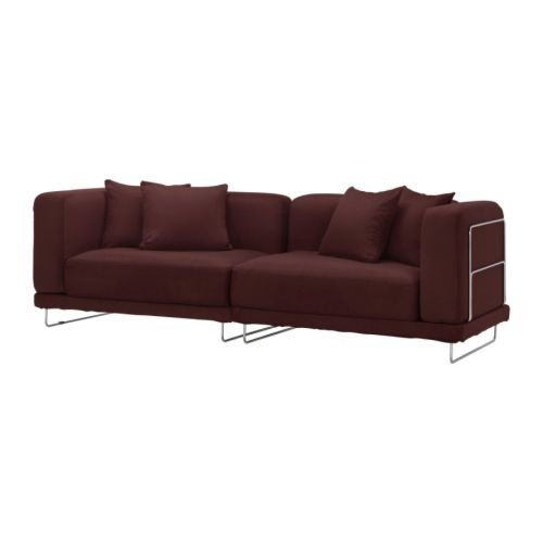 IKEA TYLOSAND Sofa COVER Everod  DARK RED TYL�SAND Slipcover EVER�D