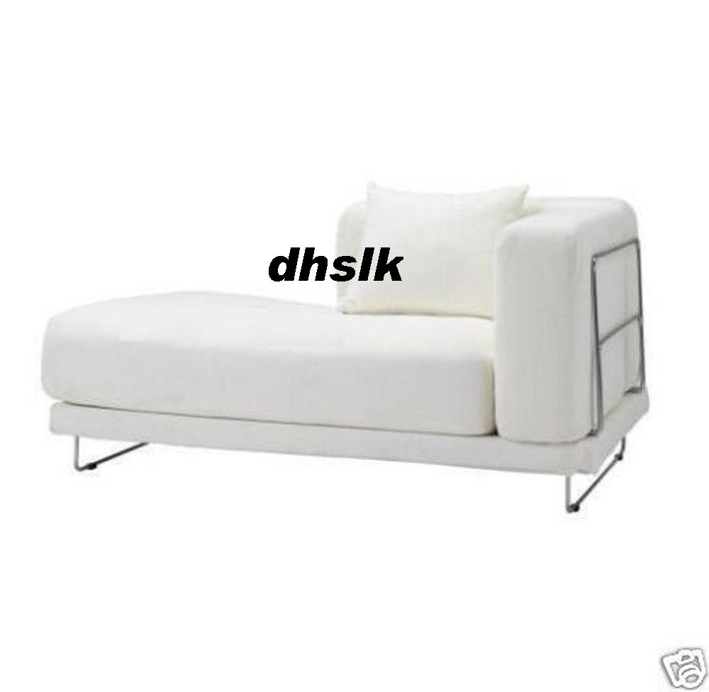 IKEA TYLOSAND Left Hand Chaise COVER REPHULT WHITE TYL�SAND Slipcover
