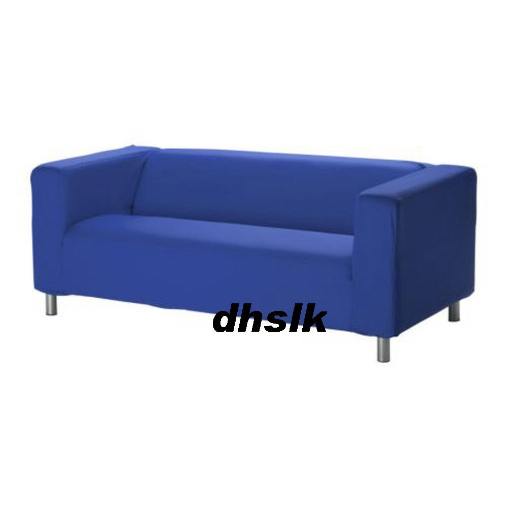New ikea klippan sofa slipcover cover granan medium blue Klippan loveseat covers