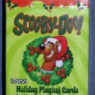 Cartoon HOLIDAY SCOOBY DOO Playing Cards DOG Santa Christmas