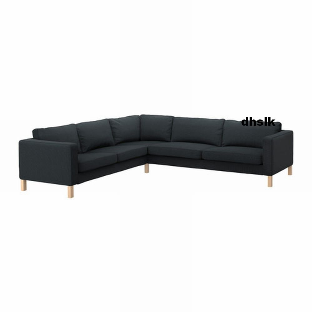 Cover For Karlstad Sofa: Ikea KARLSTAD Corner Sofa SLIPCOVER Cover KORNDAL Dark