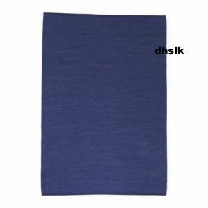 IKEA ERSLEV BLUE Large AREA Throw RUG MAT Reversible HANDWOVEN