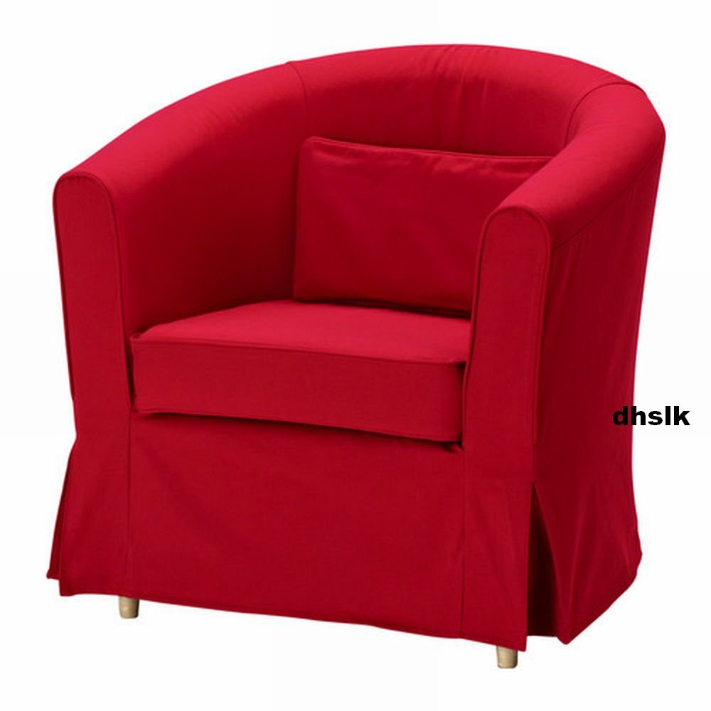 ikea ektorp tullsta armchair slipcover chair cover idemo red bezug. Black Bedroom Furniture Sets. Home Design Ideas