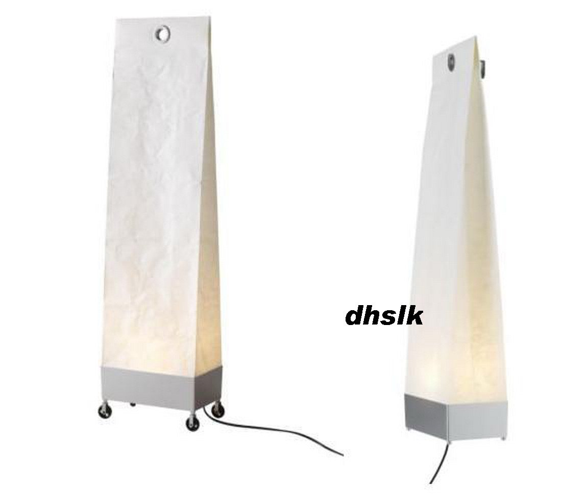 Ikea Schreibtisch Unterlage Leder ~ Ikea MAREK Floor Wall LAMP Light NATURAL Paper Bag MODERN White