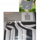 IKEA  MYRLILJA TWIN Duvet COVER Pillowcase Set RETRO Swirl BLACK WHITE Psychedelic