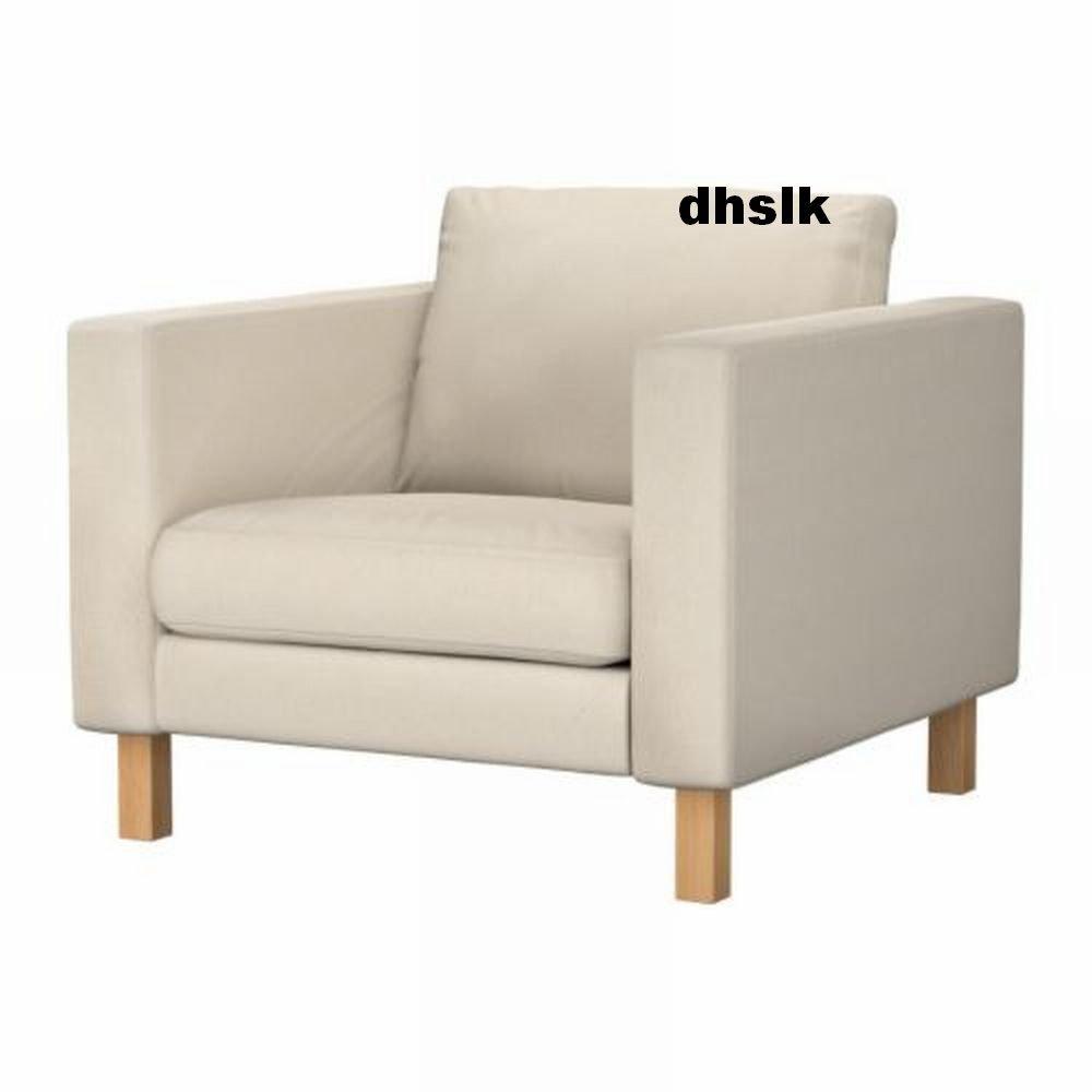 Ikea Karlstad Chair: Ikea KARLSTAD Chair SLIPCOVER Armchair Cover LINNERYD