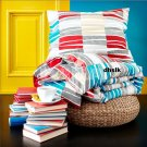 IKEA LAPPLJUNG RAND TWIN Duvet COVER Pillowcases Set ETHNIC African Design