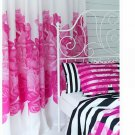 IKEA  MYRLILJA CURTAINS Drapes PINK Floral RETRO Limited Edition