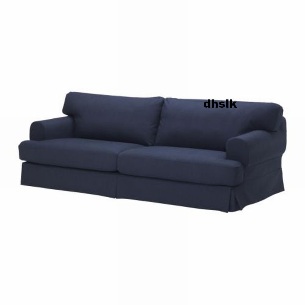 ikea hov s hovas sofa slipcover cover kallvik dark blue k llvik. Black Bedroom Furniture Sets. Home Design Ideas