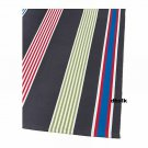 IKEA BISLEV Red GRAY White STRIPES Area Throw RUNNER RUG MAT Reversible Flatwoven XMAS