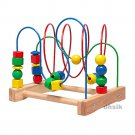 IKEA Wooden BEAD ROLLER COASTER Toy MULA Classic Preschool XMAS Toddler