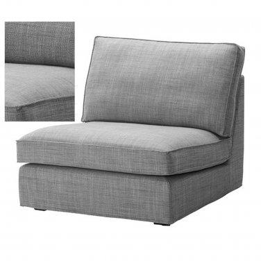 Ikea kivik 1 seat sofa slipcover one seat chair cover isunda gray grey bezug housse Ikea sofa bezug