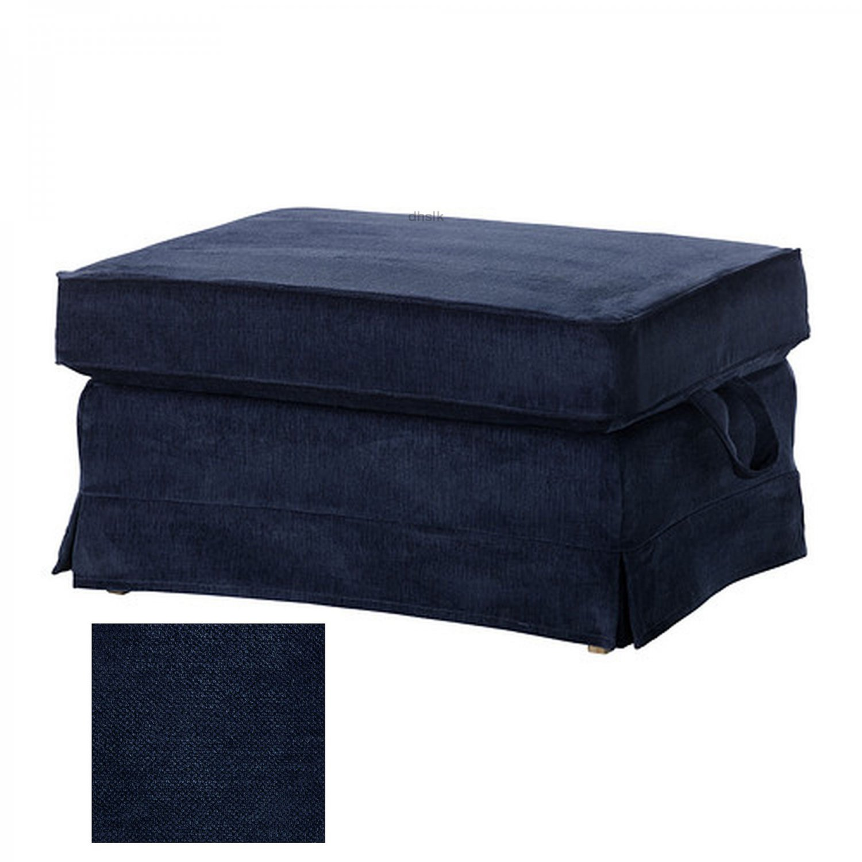 Ikea Ektorp Bromma Footstool Cover Ottoman Slipcover
